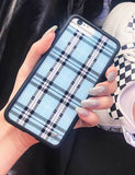 Blue Plaid iPhone 6/7/8 Case