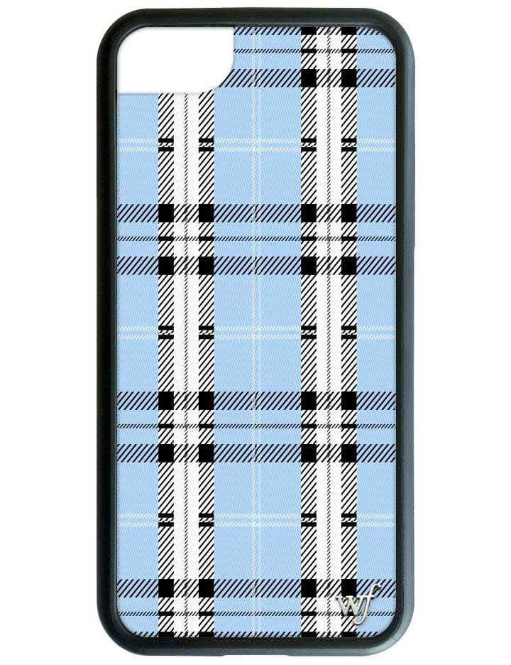 buy popular 46610 a4487 Blue Plaid iPhone 6/7/8 Case