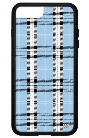 Blue Plaid iPhone 6+/7+/8+ Plus Case