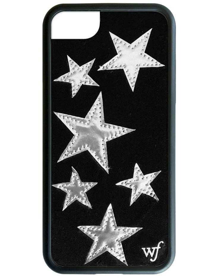 new arrive 0343a 639c0 Black Velvet Silver Stars iPhone 6/7/8 Case