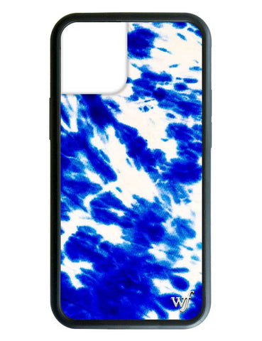 Blue Tie Dye iPhone 12 Case