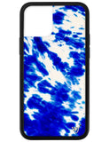 Blue Tie Dye iPhone 12 Pro Case