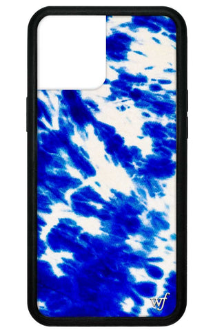 Blue Tie Dye iPhone 12 Pro Max Case