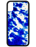 Blue Tie Dye iPhone X/Xs Case