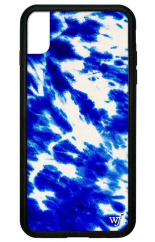 Blue Tie Dye iPhone Xs Max Case