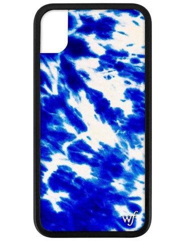 Blue Tie Dye iPhone Xr Case
