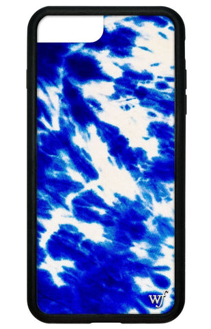 Blue Tie Dye iPhone 6+/7+/8+ Plus Case