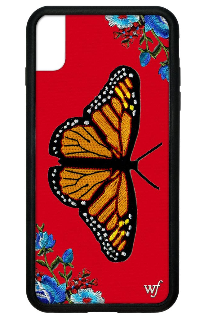 new concept 398e7 aed88 Butterfly iPhone Xs Max Case