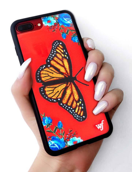 check out 49f6f 5f01d Butterfly iPhone 6+/7+/8+ Plus Case