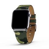 Green Camo Apple Watch Band