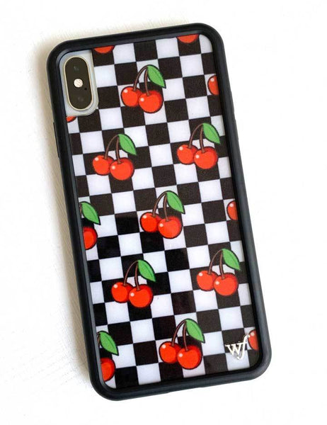 quite nice 69511 4df1c Cherry Checkers iPhone X/Xs Case