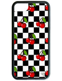 Cherry Checkers iPhone 6/7/8 Case