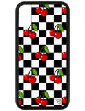 Cherry Checkers iPhone X Case