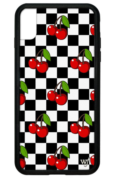 Cherry Checkers iPhone Xs Max Case