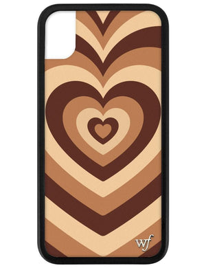 Latte Love iPhone Xr Case