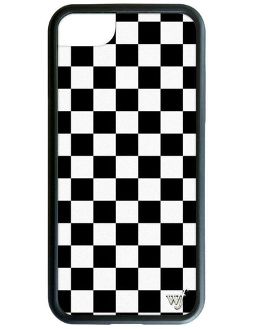 Checkers iPhone 6/7/8 Case | Black
