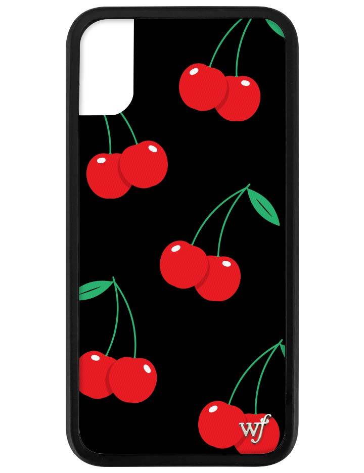 13b29ef66ea9 Black Cherry iPhone X/Xs Case – Wildflower Cases