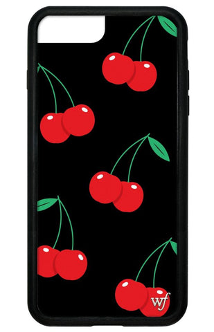 Black Cherry iPhone 6+/7+/8+ Plus Case