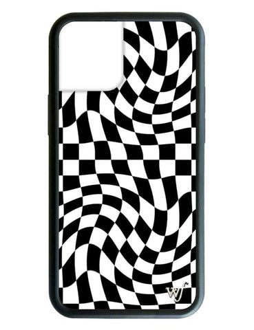 Crazy Checkers iPhone 12 Case