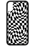 Crazy Checkers iPhone X/Xs Case