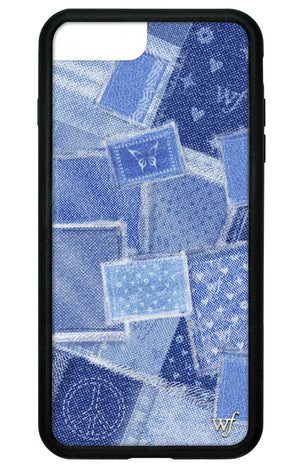 Vintage Denim iPhone 6+/7+/8+ Plus Case