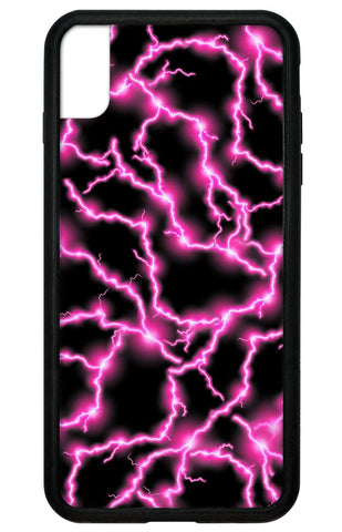 Electric Pink iPhone Xs Max Case