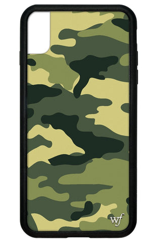 Green Camo iPhone Xs Max Case