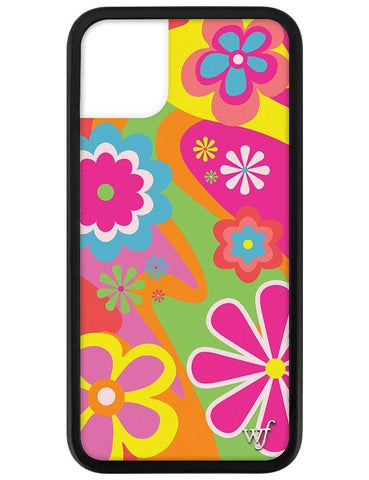 Groovy Flowers iPhone 11 Case