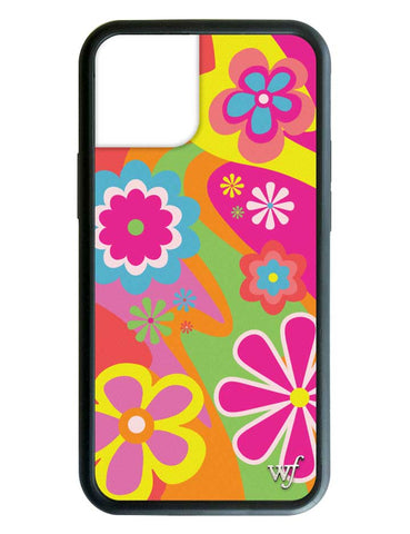 Groovy Flowers iPhone 12 Case