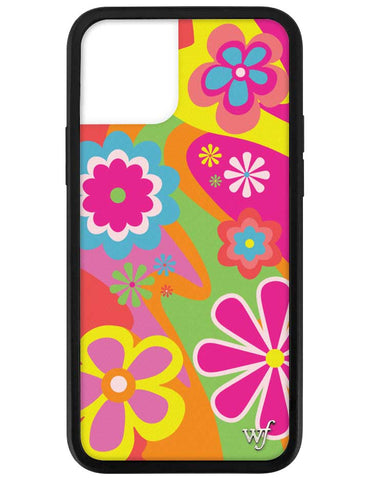 Groovy Flowers iPhone 12 Pro Case