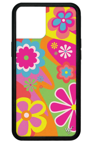 Groovy Flowers iPhone 12 Pro Max Case