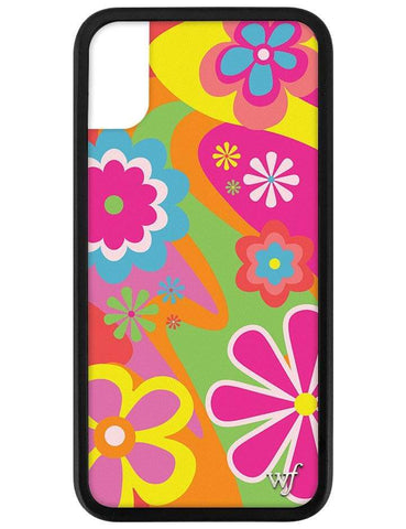 Groovy Flowers iPhone X/Xs Case