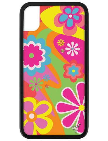 Groovy Flowers iPhone Xr Case