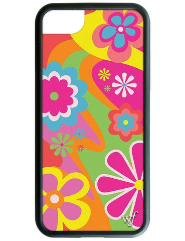 Groovy Flowers iPhone SE/6/7/8 Case