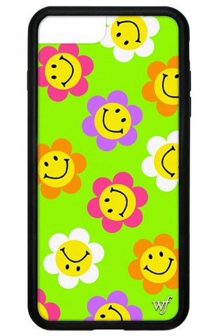 Smiley Flowers iPhone 6/7/8 Plus Case