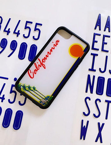 Jesse Rutherford Customizable Califournia iPhone 6/7/8 Case