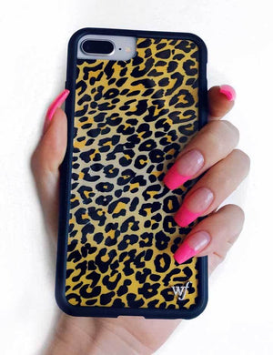 Leopard iPhone 6/7/8 Plus Case | Gold