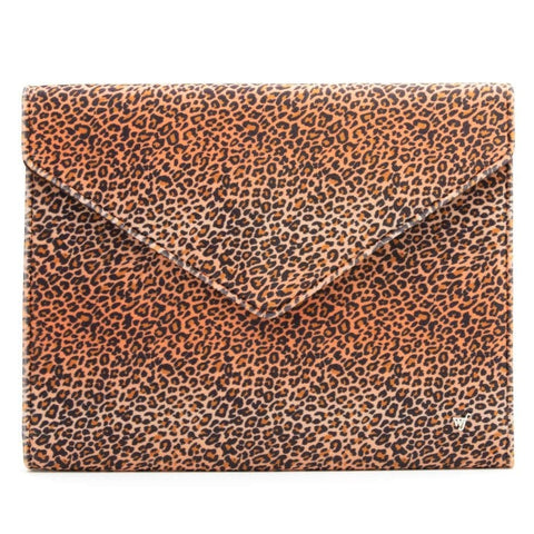 "Leopard 13"" Laptop Clutch"