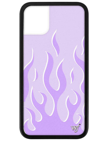 Lavender Flames iPhone 11 Case
