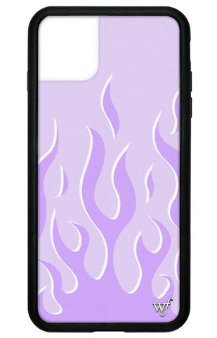 Lavender Flames iPhone 11 Pro Max Case
