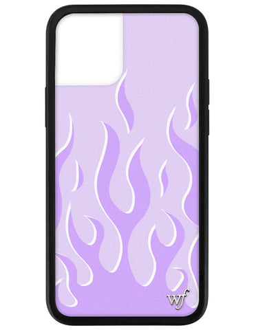 Lavender Flames iPhone 12 Pro Case