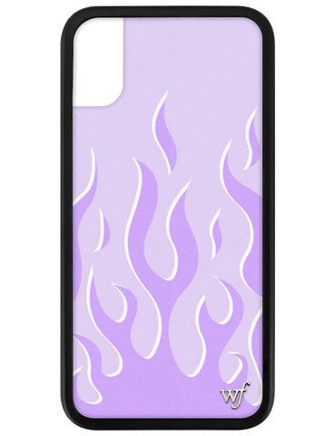 Lavender Flames iPhone X/Xs Case
