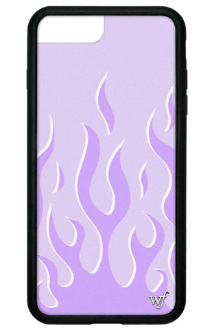 Lavender Flames iPhone 6+/7+/8+ Plus Case