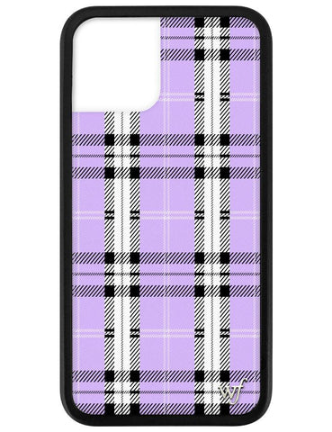 Lavender Plaid iPhone 11 Pro Case