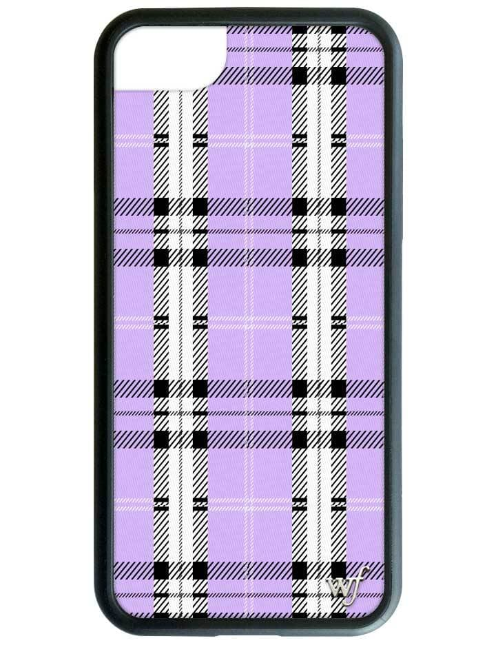 separation shoes 4225e 52971 Lavender Plaid iPhone 6/7/8 Case
