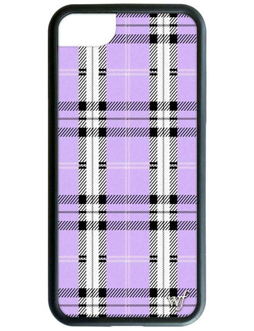 Lavender Plaid iPhone SE/6/7/8 Case