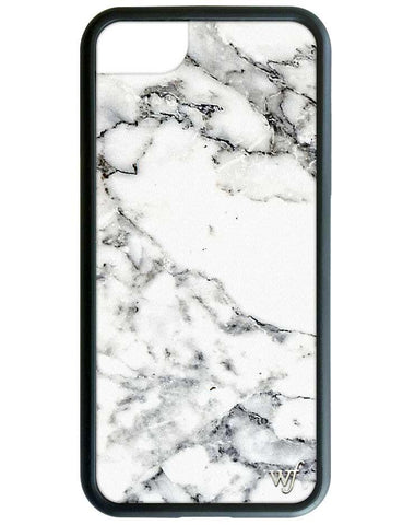 Wildflower White Marble iPhone 7 Case