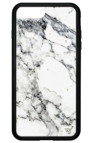 Wildflower White Marble iPhone 7 Plus Case