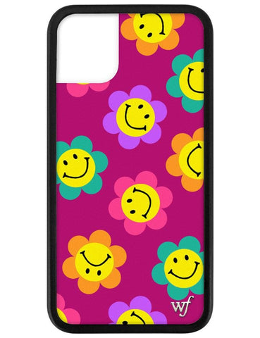 Smiley Flowers iPhone 11 Case