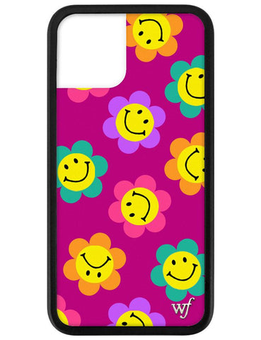 Smiley Flowers iPhone 11 Pro Case